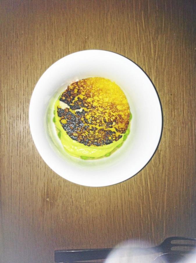 Les tranches de veau et la mousseline de langoustine : orgasme culinaire assuré !