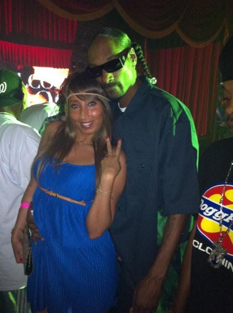 Snoop Dogg au VIP Room Theater avec Nadia, notre journaliste Public.