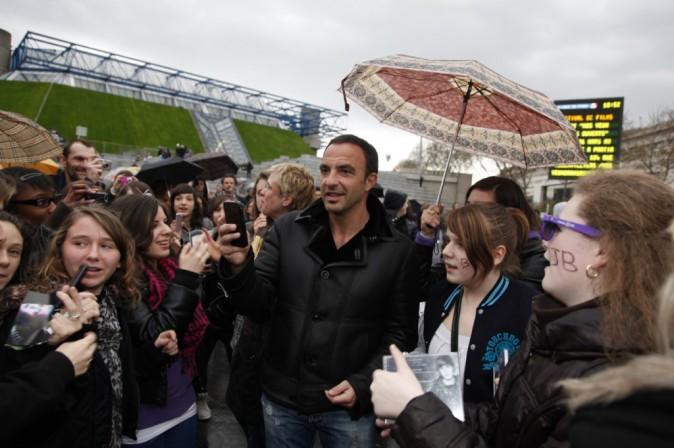 Les fans, avec Nikos Aliagas !