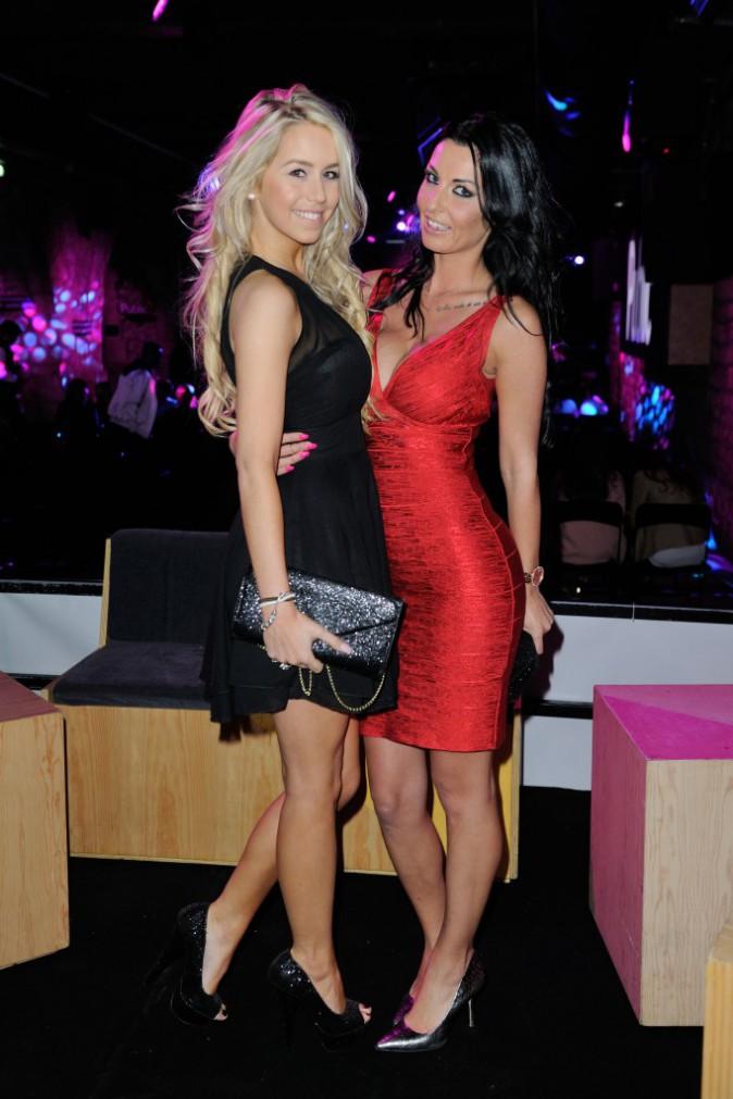 Coralie et Anaïs le 1er avril 2015