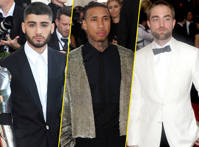 Photos : Public Man Crush : Zayn Malik, Tyga, Robert Pattinson... les beaux gosses du Met Gala 2016 !