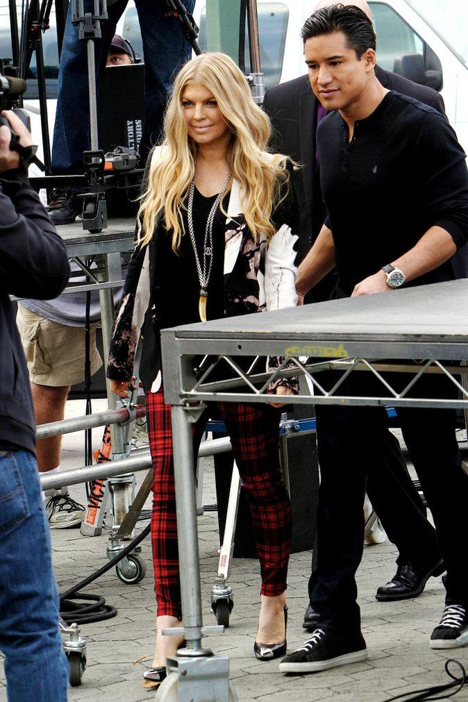 Fergie avec son ex : Mario Lopez