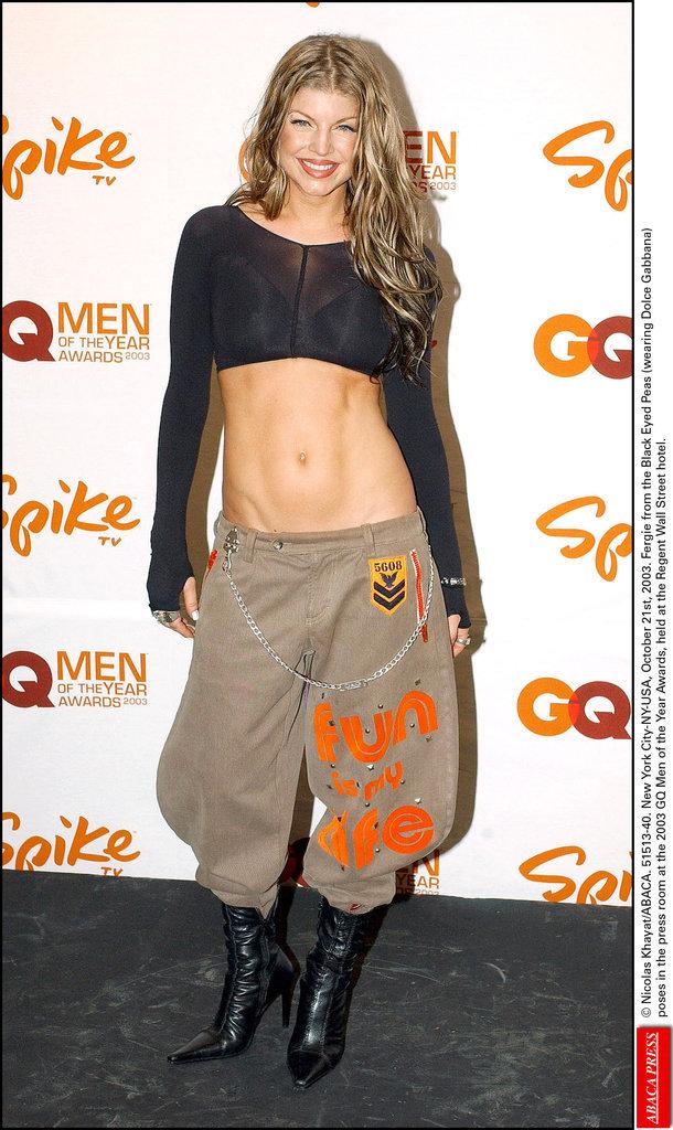 Fergie en 2003