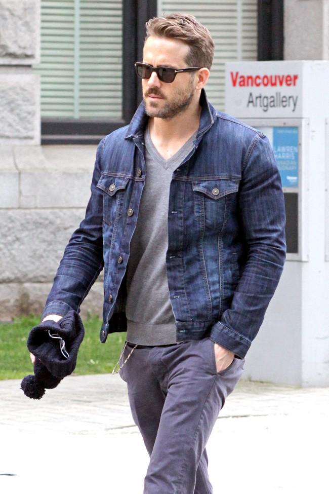 Ryan Reynolds à Vancouver le 18 mars 2014