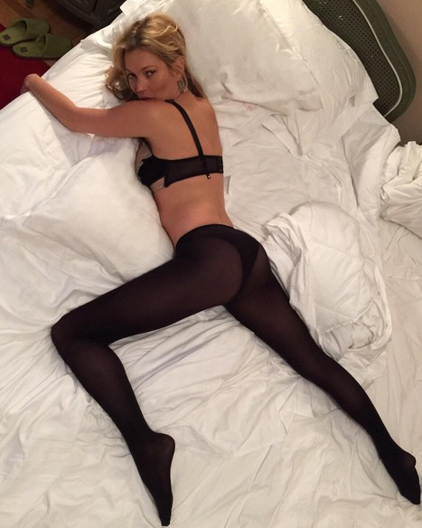 Kate Moss shootée par Cara Delevingne