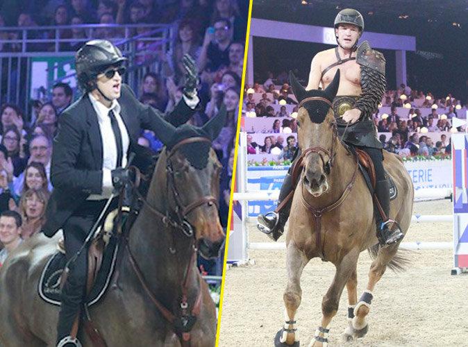 Photos : quand Guillaume Canet et Benjamin Castaldi font le show ensemble, à cheval !