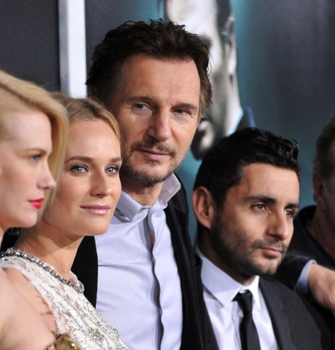 Diane avec ses collègues du film !