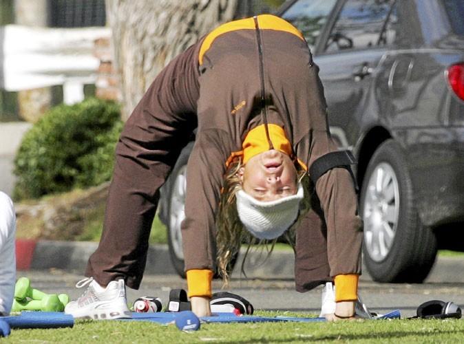 Photos : quand Fergie fait de la gym, c'est renversant !