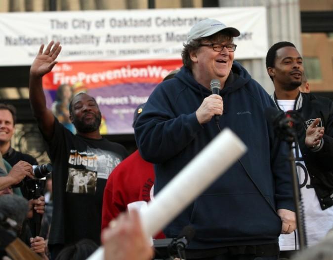 Michael Moore affirme toujours haut et fort ses idées