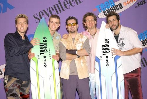 Les N Sync en 2001