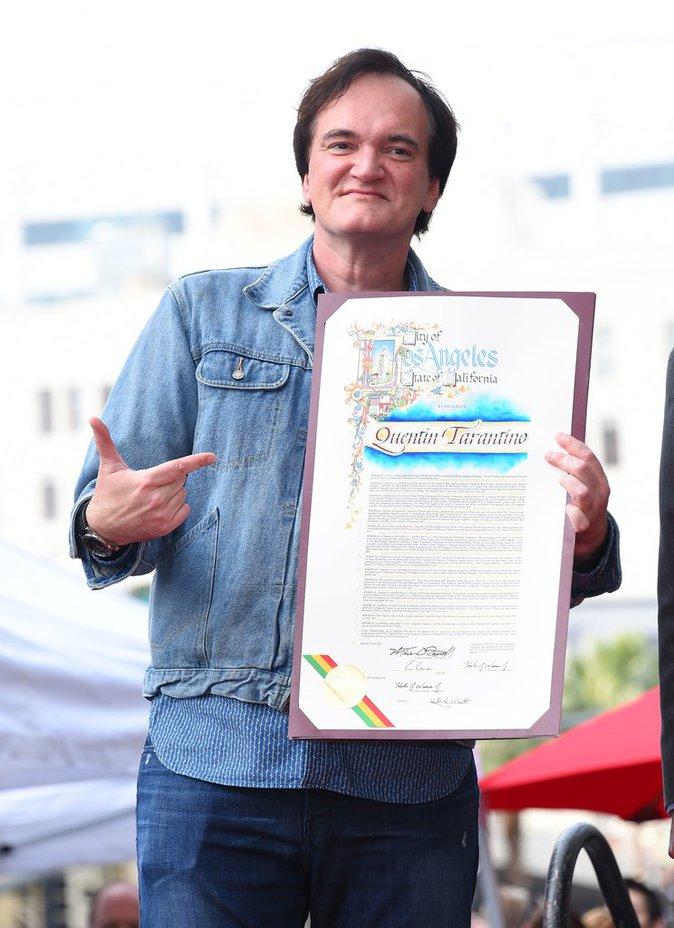 Photos : Quentin Tarantino : Il reçoit enfin son étoile à Hollywood !