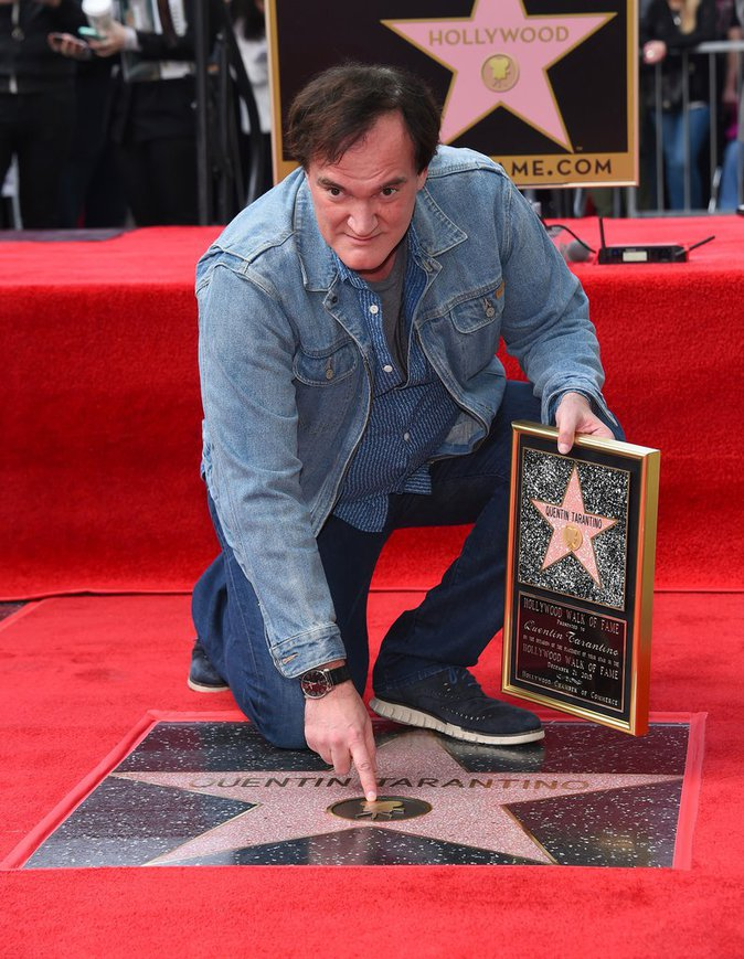 Photos : Quentin Tarantino : Il reçoit enfin son étoile à Hollywood !