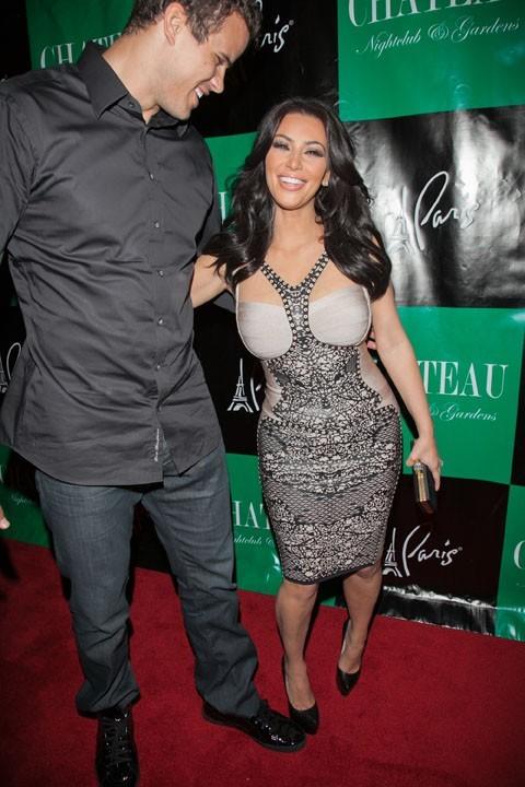 Kim et sa nouvelle coupe plus courte !