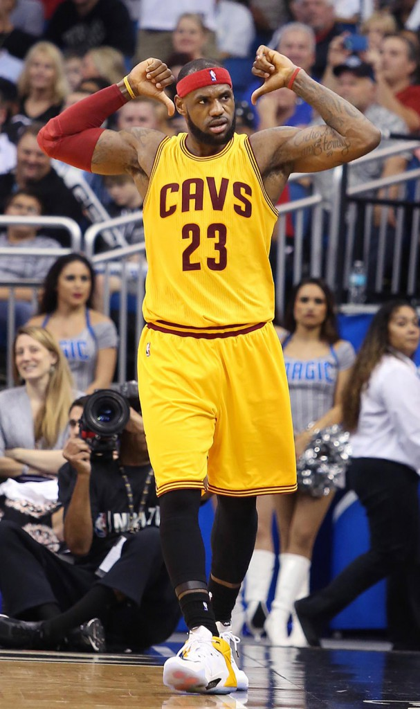 N°6 : LeBron James – 64,8M$