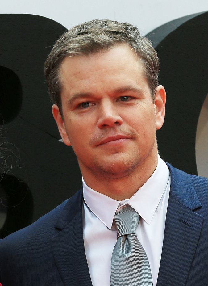 Matt Damon : 55 millions de dollars
