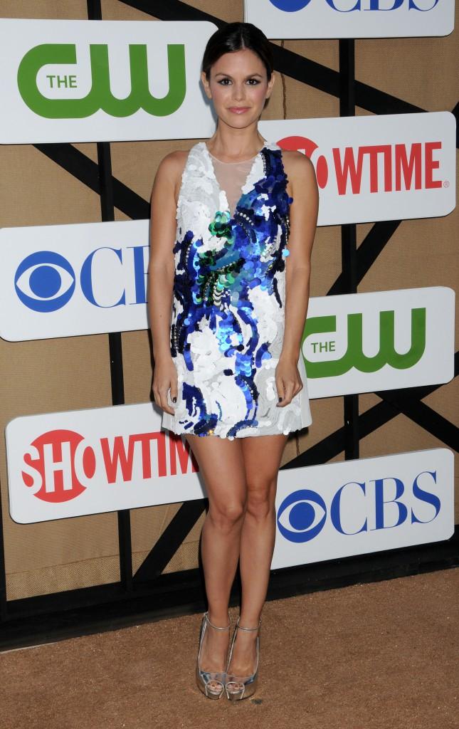 """Rachel Bilson lors de la """"CW, CBS and Showtime 2013 Summer TCA Party"""" à Beverly Hills, le 29 juillet 2013."""