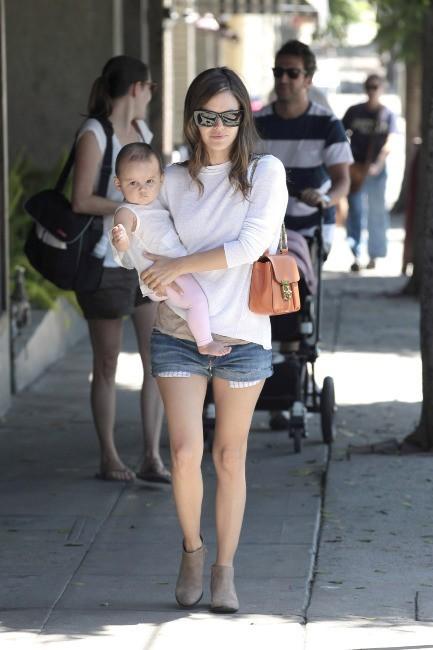 Rachel Bilson et sa filleule
