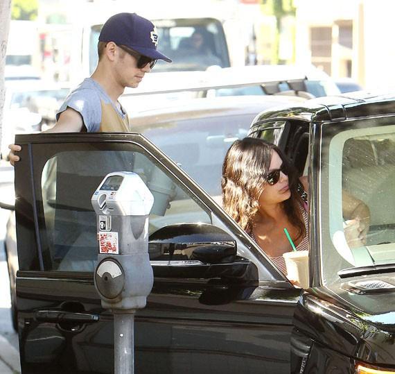 Rachel Bilson et Hayden Christensen à Los Angeles le 6 octobre 2014