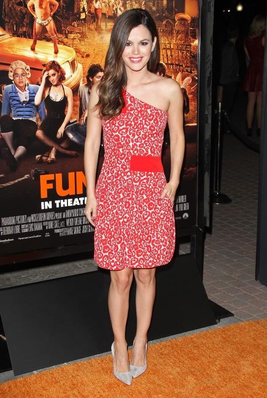Rachel Bilson lors de la première du film Fun Size à Hollywood, le 25 octobre 2012.