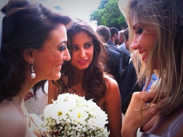 Rachel Legrain-Trapani avec Alexandra Rosenfeld et Malika Ménard