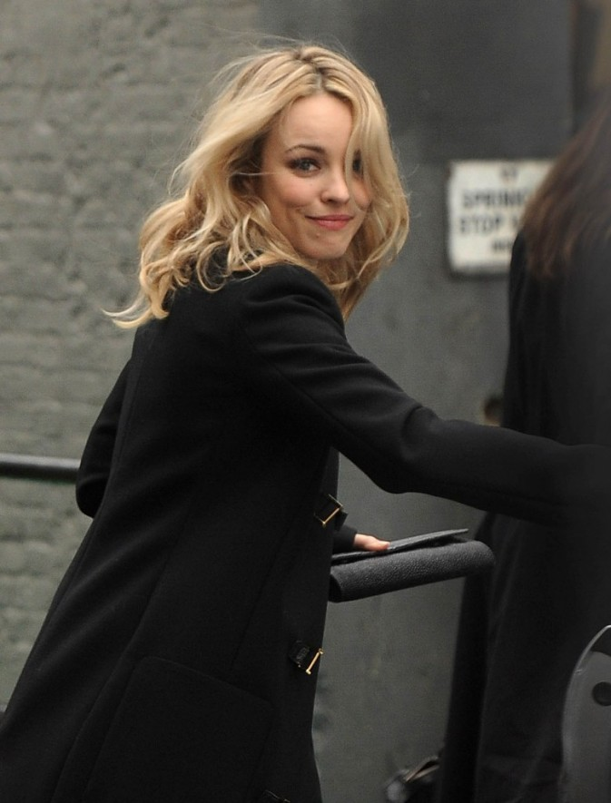 Rachel McAdams à Londres, le 18 janvier 2012.