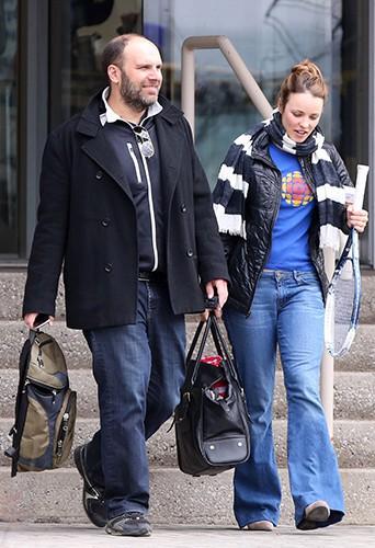 Rachel McAdams et Patrick Sambrook à Toronto le 1er mai 2014