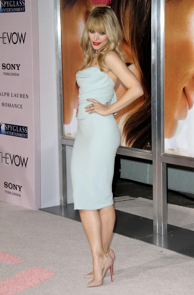 Rachel McAdams lors de la première du film The Vow à Hollywood, le 6 février 2012.