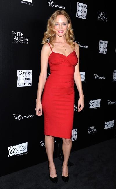 Heather Graham lors de la soirée en l'honneur de Rachel Zoe au Centre Gay & Lesbien de L.A., le 23 janvier 2012.