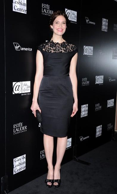 Mandy Moore lors de la soirée en l'honneur de Rachel Zoe au Centre Gay & Lesbien de L.A., le 23 janvier 2012.