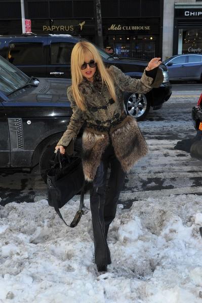 Rachel Zoe le 10 février 2013 à New York