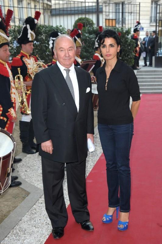 Rachida Dati assiste à l'inauguration de l'Institut des Lettres et Manuscrits