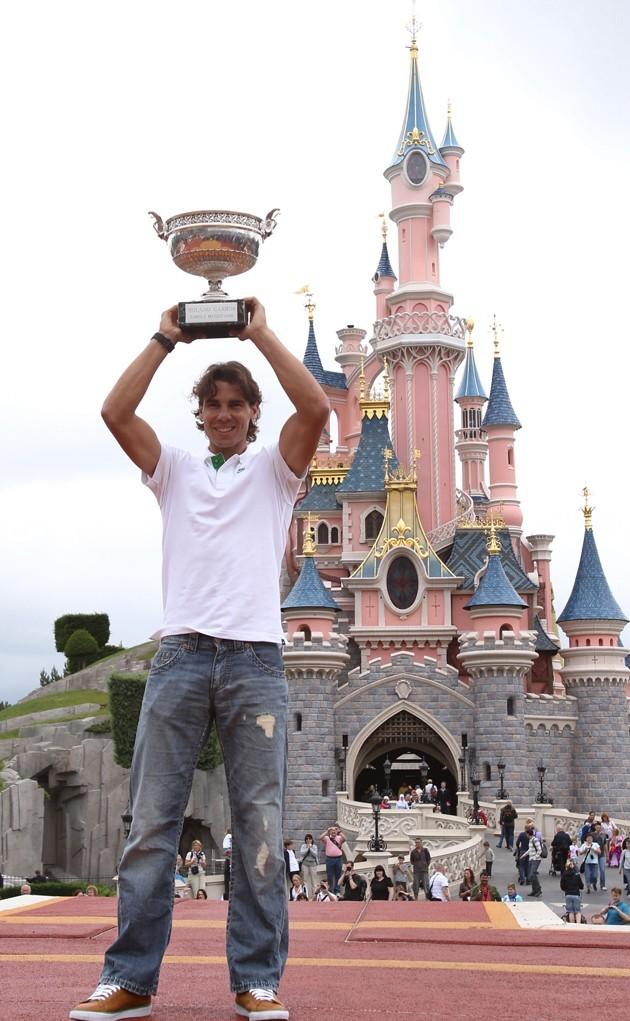 Mieux qu'Excalibur, la coupe de Roland Garros!