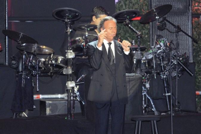 Julio Iglesias en concert à Barcelone le 26 juin 2013