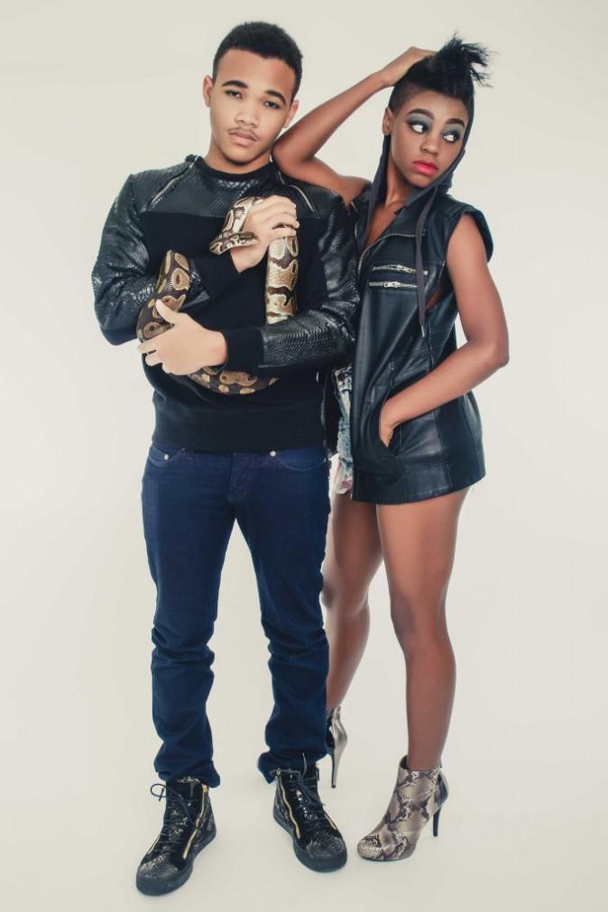 Photos : Rajad Fenty : le petit frère de Rihanna se la joue mannequin !