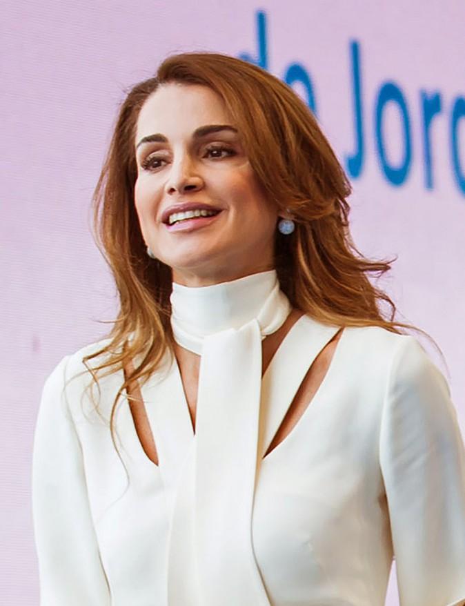 Rania de Jordanie, le 26 août 2015