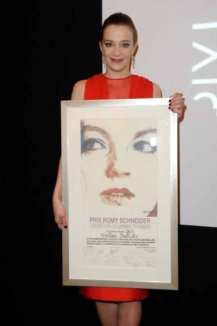 Céline Sallette, jolie lauréate