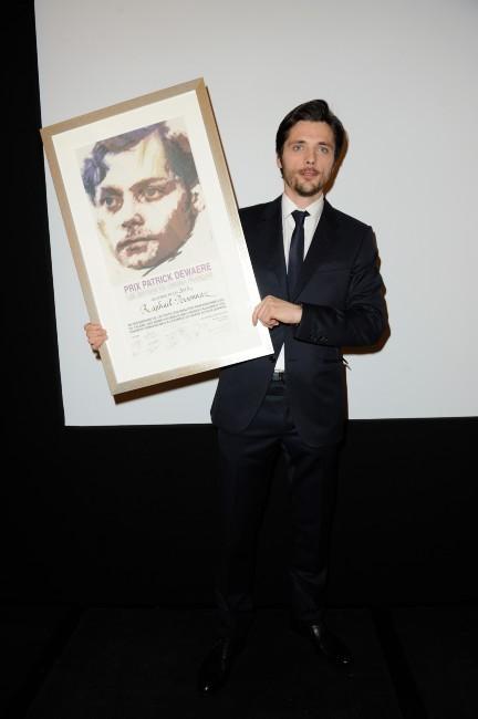 Raphaël Personnaz et son Prix Patrick Dewaere