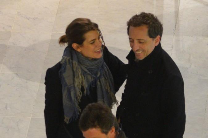 Charlotte Casiraghi et de Gad Elmaleh, parents d'un petit Raphaël depuis le 17 décembre 2013 !