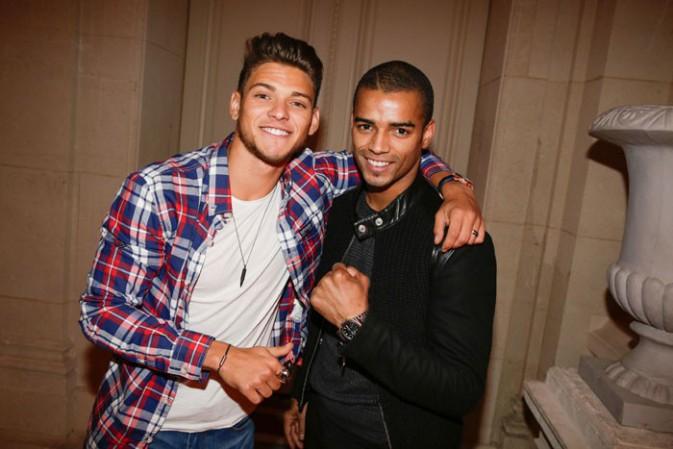 Rayane Bensetti et Brahim Zaibat à Paris le 17 septembre 2015