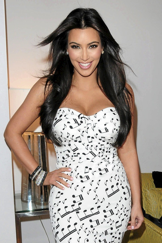 L'ex : Kim Kardashian !