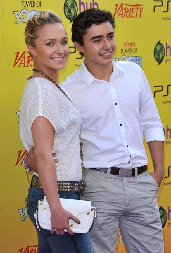 Hayden Panettiere avec son frère Jansen