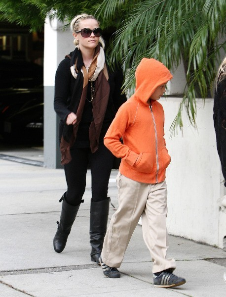 Reese Witherspoon et Ava, Los Angeles, 9 janvier 2013