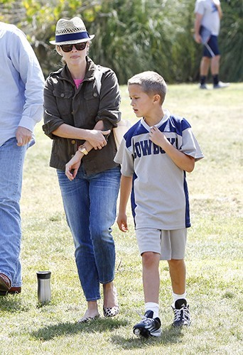 Reese Witherspoon et Deacon Philippe à Brentwood le 18 mai 2013