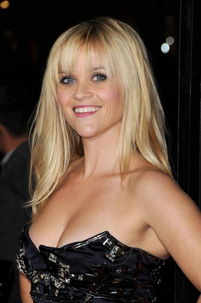 Reese Witherspoon lors de la première du film This Means War à Hollywood, le 8 février 2012.