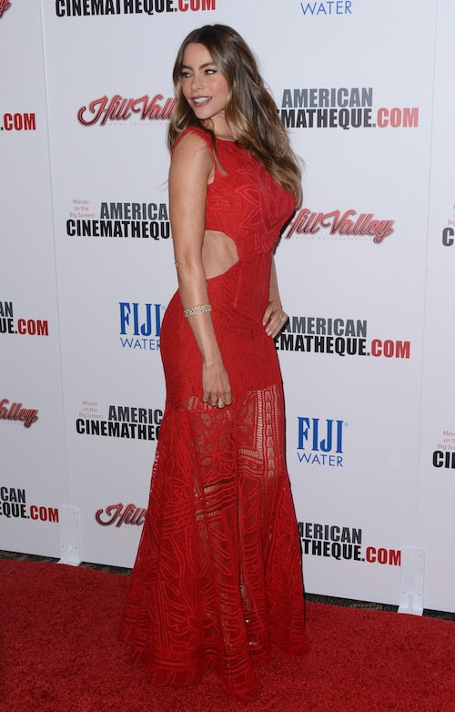 Sofia Vergara aux American Cinematheque Awards à Los Angeles, le 30 octobre 2015 !