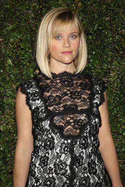 Reese Witherspoon lors du lancement du livre de Drew Barrymore à Los Angeles, le 14 janvier 2014.