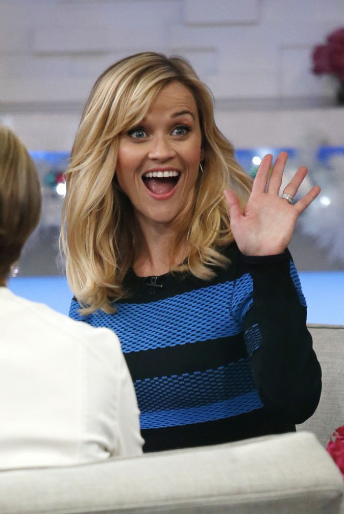 Reese Witherspoon à New York le 3 décembre 2014