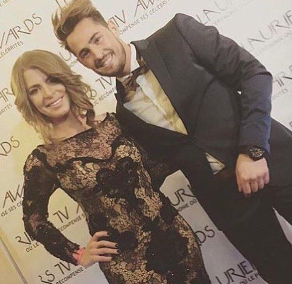 Rémi et Emilie s'affichent ensemble aux Lauriers TV Awards 2016 !