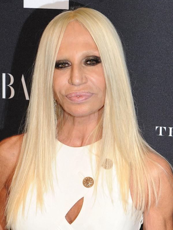 Donatella Versace maintenant