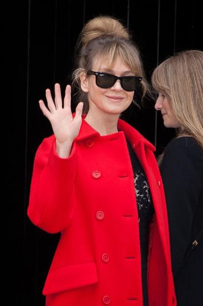 Renée Zellweger à Paris le 11 mars 2015